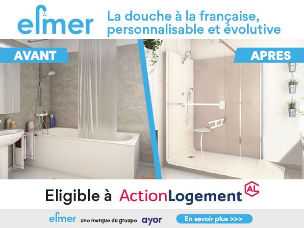 La douche à la Française connectée à vos envies