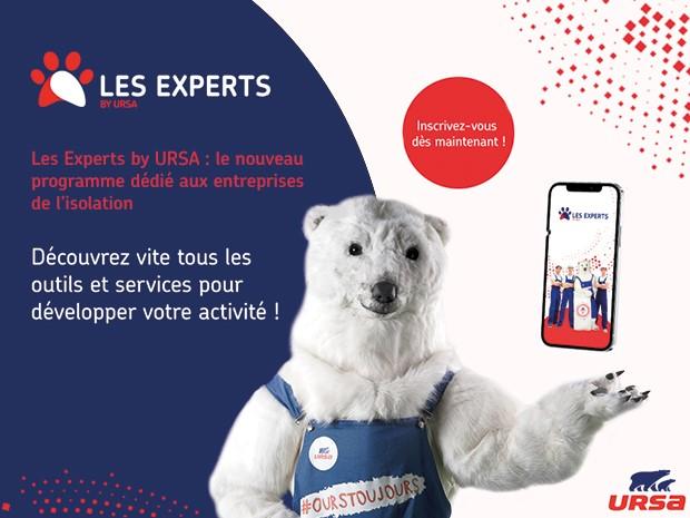 URSA dévoile son nouveau programme Les Experts by ...